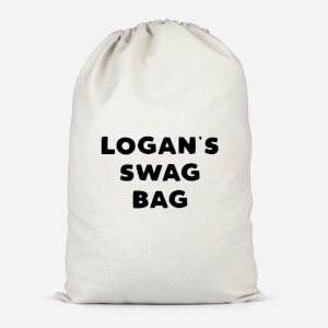 Boy's Named Swag Cotton Storage Bag