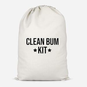 Clean Bum Kit Cotton Storage Bag