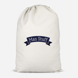 Man Stuff Cotton Storage Bag