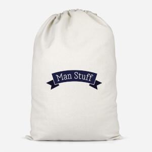 Man Stuff Cotton Storage Bag