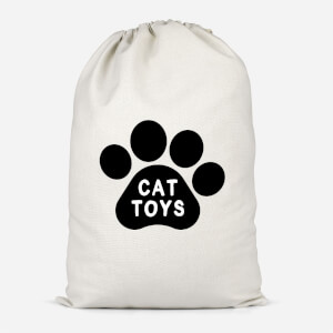 Cat Toys Paw Cotton Storage Bag