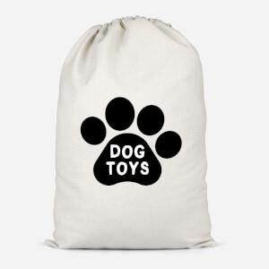 Dog Toys Paw Cotton Storage Bag