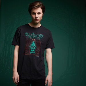 Camiseta Legend Of Zelda Retro Arcade Héroe - Negro