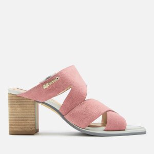 Ted Baker Women's Airica Suede Heeled Mules - Pink