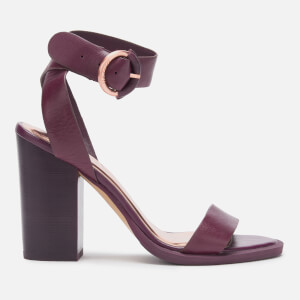 Ted Baker Women's Betciy Block Heeled Sandals - Purple