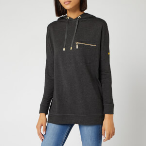 Barbour International Women's Nuburg Overlayer Sweatshirt - Anthracite