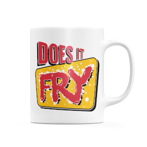 Does It Fry Logo Mug
