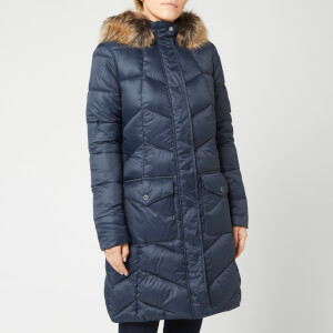 Barbour Women's Clam Quilt Coat - Navy