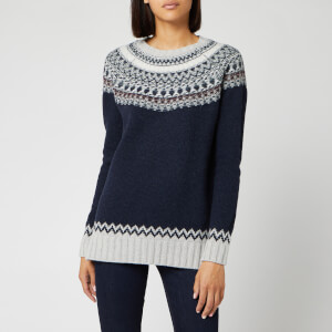 Barbour Women's Fairlead Knit Jumper - Deep Sea Marl