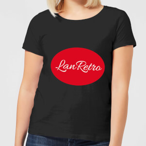 Lanre Retro Lanretro Logo Women's T-Shirt - Black