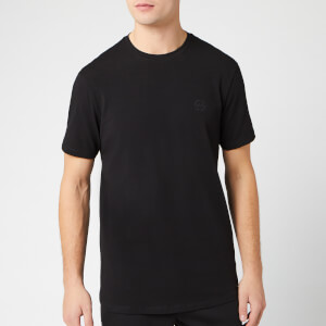 Armani Exchange Men's Tonal Small Logo T-Shirt - Black