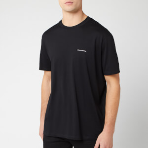 Armani Exchange Men's Small Script Logo T-Shirt - Black