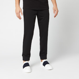 Armani Exchange Men's Small Logo Sweat Pants - Black