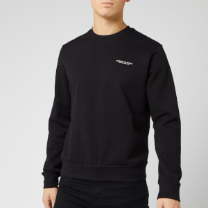 Armani Exchange Men's Small Chest Logo Sweatshirt - Black