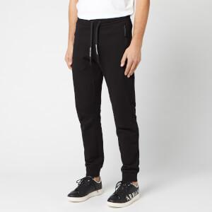 Armani Exchange Men's Small Logo Sweatpants - Black