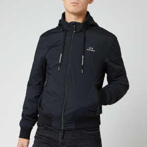 Armani Exchange Men's Logo Jacket - Black