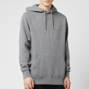 Calvin Klein Jeans Men's Badge Hoodie - Grey Heather
