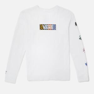 Vans X Harry Potter Kid's Four Houses Long Sleeve T-Shirt - White