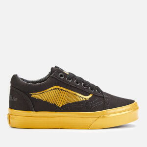 Vans X Harry Potter Kid's Golden Snitch Old Skool Trainers - Black