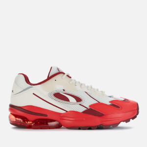 Puma Men's Cell Ultra Medical Trainers - Whisper White/High Risk Red