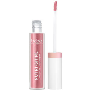 Babo Botanicals Nutri-Shine Luminizer Vegan Lip Gloss - Jewel Hibiscus 4ml