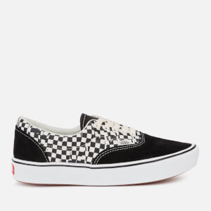 Vans ComfyCush Era Tear Check Trainers - Black/True White