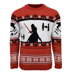Star Wars Kylo Ren Kintted Christmas Jumper