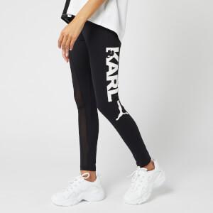 Puma X Karl Lagerfeld Women's Full Length Tights - Puma Black