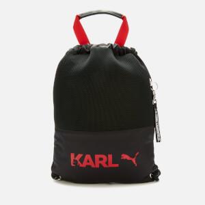 Puma X Karl Lagerfeld Women's Backpack Tote Bag - Puma Black