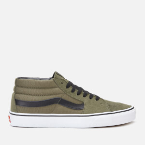 Vans Men's Sk8-Mid Retro Sport Trainers - Grape Leaf/True White