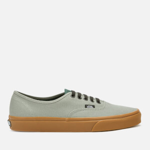 Vans Men's Authentic Gum Trainers - Shadow/Trekking Green
