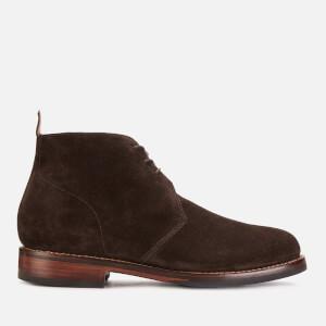 Grenson Men's Wendell Suede Desert Boots - Chocolate