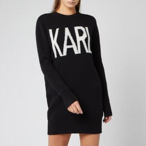Karl Lagerfeld Women's Karl Oui Sweatshirt - Black