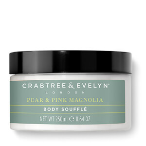 Crabtree & Evelyn Pear and Pink Magnolia Uplifting Body Souffle 250ml
