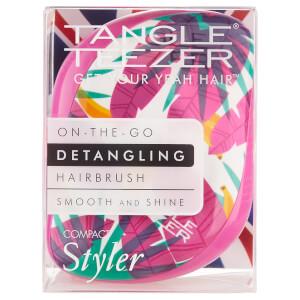 Tangle Teezer Compact Styler Detangling Hairbrush - Botanical Bananas: Image 5
