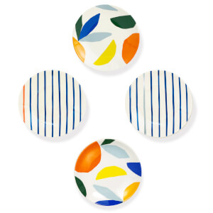 Kate Spade Citrus Twist Tidbit Plates