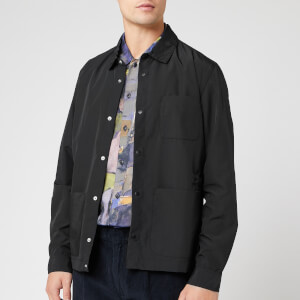 Folk Men's Assembly Jacket - Black Micro Ripstop