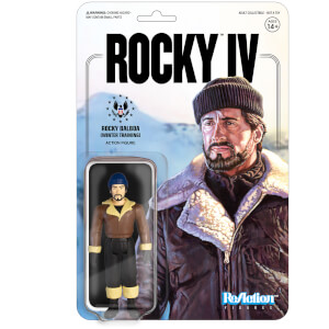 Super 7 Rocky ReAction Figure (Rocky Winter Training)