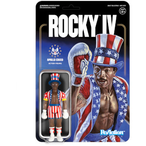 Super 7 Rocky ReAction Figure (Apollo Creed)