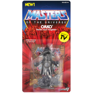 Super 7 Masters of the Universe Vintage Figure Wave 4 (Orko Shadow)