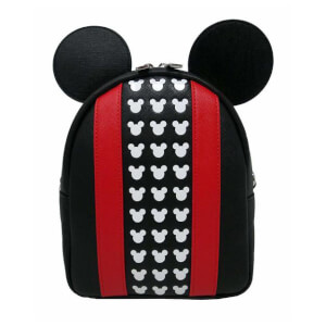 Loungefly Mickey Mouse Applique Debossed Backpack