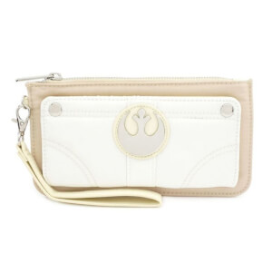 Loungefly Star Wars Mini Faux Leather Purse With Suede And Nylon Trims