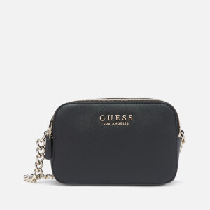 Guess Women's Robyn Cross Body Camera Bag - Black