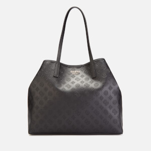 Guess Women's Vikky Large Tote Bag - Black
