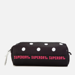 Superdry Women's Repeat Series Pencil Case - Black Polka Dot