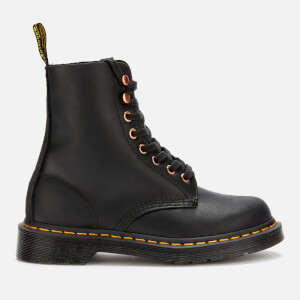 Dr. Martens Women's 1460 Pascal Leather 8-Eye Boots - Black/Black