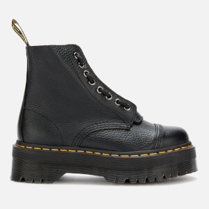 Dr. Martens Women's Sinclair Leather Zip Front Boots - Black
