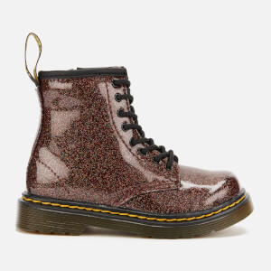 Dr. Martens Toddler's 1460 Glitter Lace-Up Boots - Rose Brown