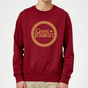 Game of Thrones Circle Logo trui - Wijnrood