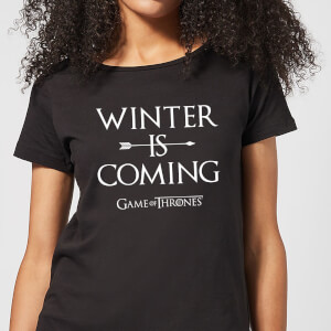 Game of Thrones Winter Is Coming Women's T-Shirt - Black